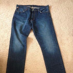 Denim & Supply Tapered Straight Leg Jeans